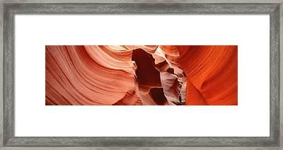 Antelope Slot Canyon, Az Framed Print by Panoramic Images