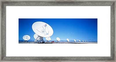 Antenna Configuration Nm Usa Framed Print by Panoramic Images