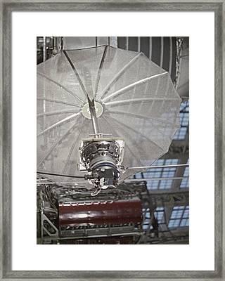 Antenna Of Molniya-1 Satellite On Test Framed Print