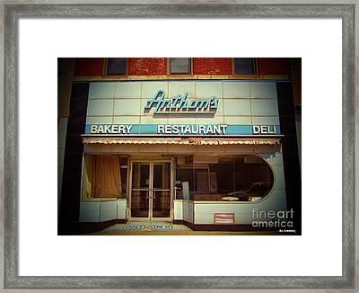 Anthon's Bakery Pittsburgh Framed Print