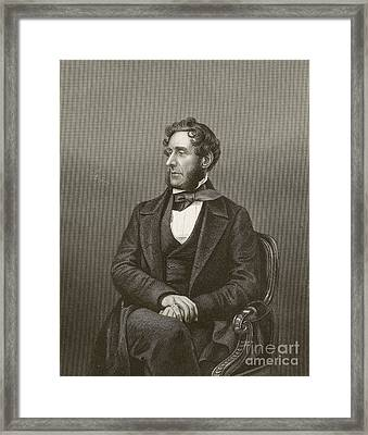 Anthony Ashley-cooper, British Reformer Framed Print