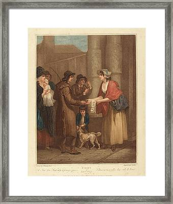 Anthony Cardon After Francis Wheatley British Framed Print