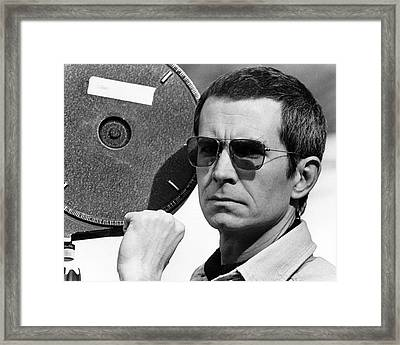 Anthony Perkins In Mahogany  Framed Print by Silver Screen