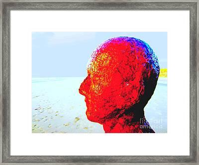 Anthony's Head Framed Print by C Lythgo