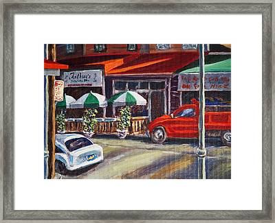 Anthony's Framed Print
