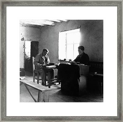 Anthropology Research Framed Print by American Philosophical Society