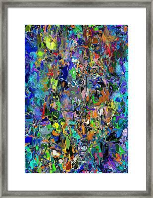 Anthyropolitic 1 Framed Print by David Lane