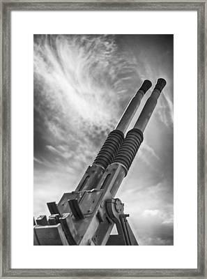 Anti-aircraft Firepower Framed Print by Douglas Barnard