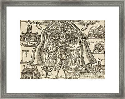 Anti-catholic Pamphlet, 1643 Framed Print