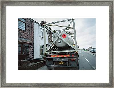 Anti-knock Mixture Framed Print by Robert Brook