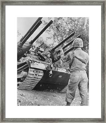 Anti Tank Weapon Framed Print by Retro Images Archive