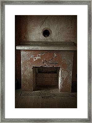 Anti War Graffiti Framed Print by John Stephens
