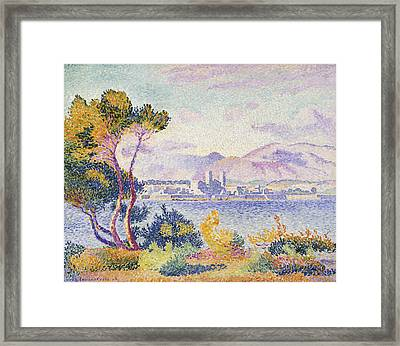 Antibes Afternoon Framed Print by Henri Edmond Cross
