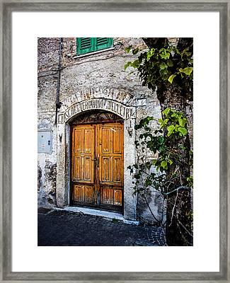 Antica Bottega Framed Print