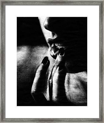 Anticipation Framed Print