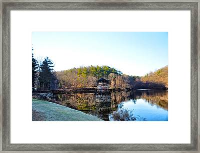 Antietam Creek - Berks County Pa. Framed Print by Bill Cannon