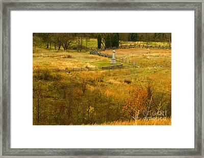 Antietam In Autumn Framed Print by Paul W Faust -  Impressions of Light