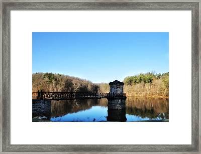 Antietam Lake Near Reading Pa Framed Print by Bill Cannon