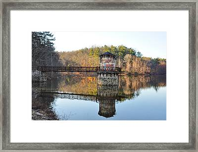 Antietam Lake - Reading Pa Framed Print by Bill Cannon
