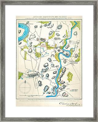 Antietam, Maryland, 1862 Framed Print