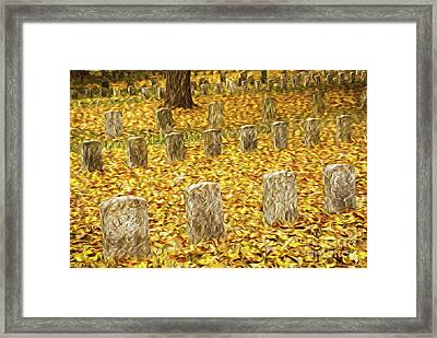 Antietams Fallen Framed Print by Paul W Faust -  Impressions of Light