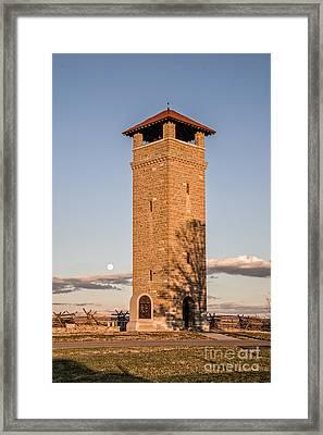 Antietam's Stone Tower Framed Print