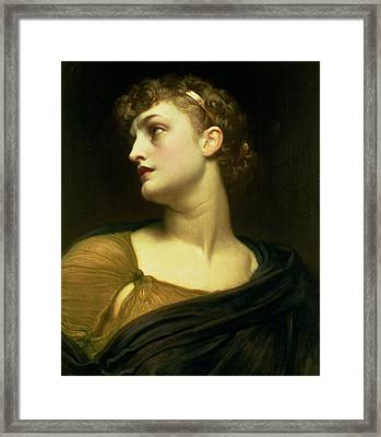 Antigone Framed Print by Frederic Leighton