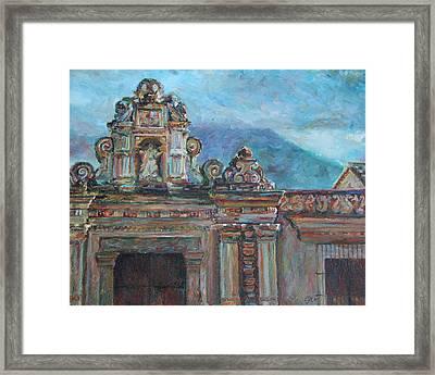 Antigua Framed Print