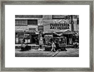 Framed Print featuring the photograph Antioquena Barranquilla  by Rob Tullis