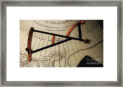 Antiquaria Nautica Framed Print by RC deWinter