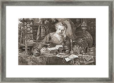 Antiquary 1901 Framed Print by Padre Art