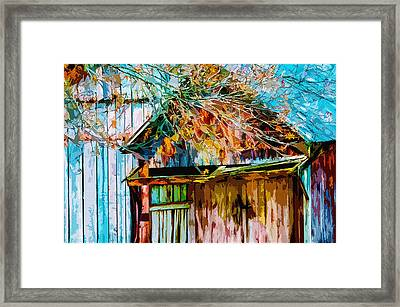 Antiquated Angles 2 Framed Print