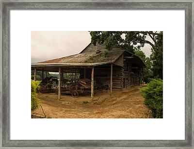 Antique Barn Framed Print by Chris Flees