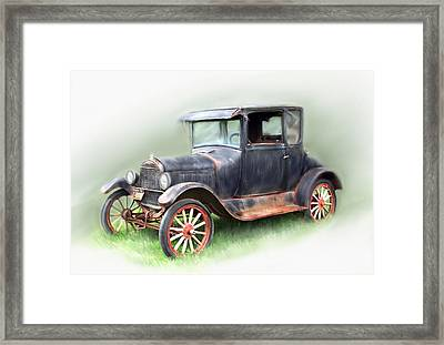 Antique Car Framed Print