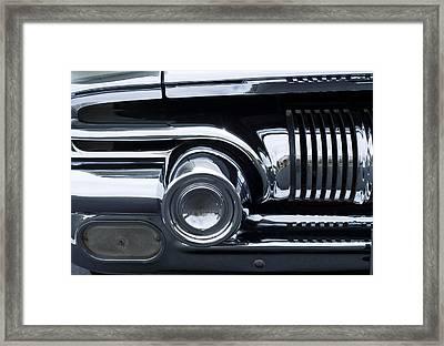 Antique Car Grill Framed Print