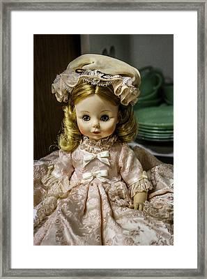 Antique Doll Framed Print