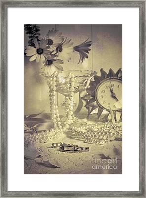 Antique Dressing Table Framed Print