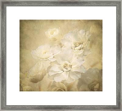 Antique Floral Framed Print