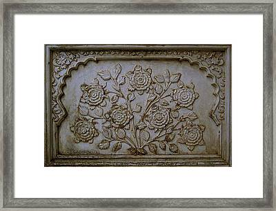 Antique Flowers Framed Print by Russell Smidt