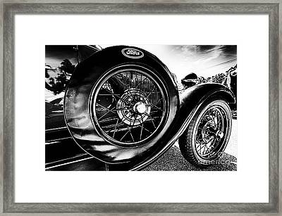 Antique Ford Car Framed Print