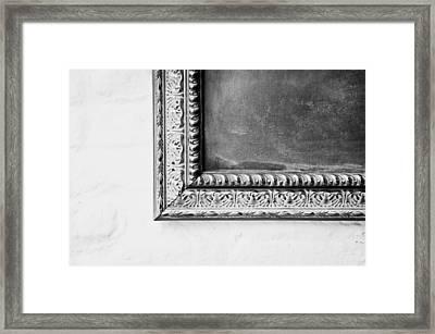 Antique Frame Framed Print by Tom Gowanlock