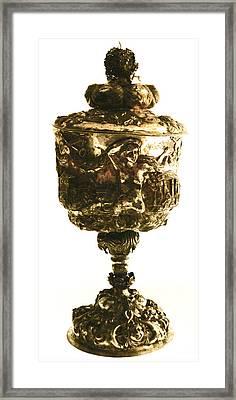 Antique Goblet  Framed Print by Gina Dsgn