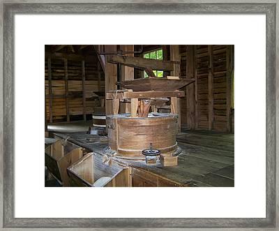 antique Grist Mill  Framed Print by Chris Flees