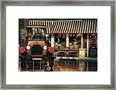 Antique Grocery Store  Framed Print by Maria Angelica Maira