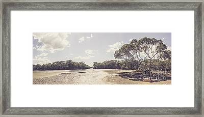 Antique Mangrove Landscape Framed Print by Jorgo Photography - Wall Art Gallery