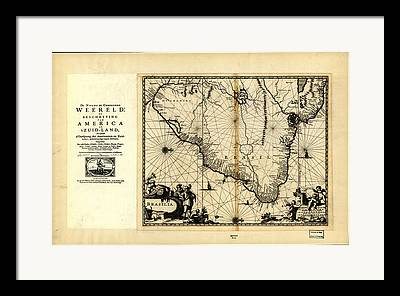 Image Created 19th Century Drawings Framed Prints
