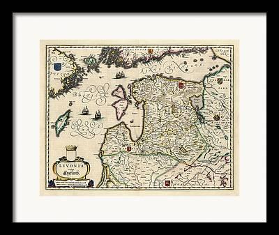 Lithuania Framed Prints