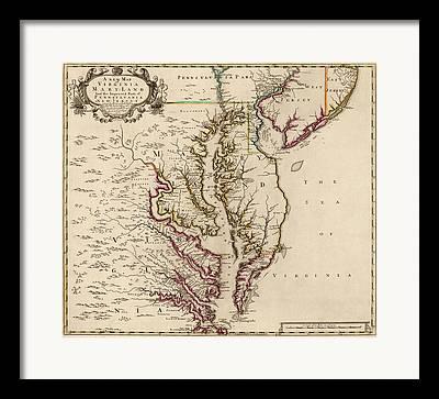 Chesapeake Bay Framed Prints