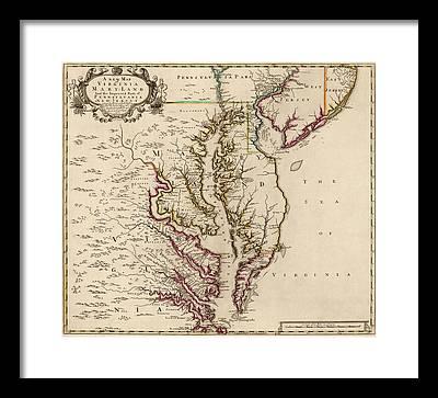 Maryland Framed Prints