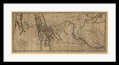Montana Drawings Framed Prints